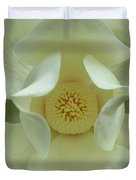 The Perfect Opening Magnolia Flower Art Duvet Cover
