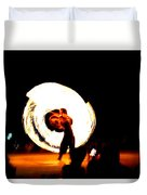 The Performer Duvet Cover
