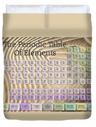 The Periodic Table Of Elements 1 Duvet Cover