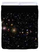 The Perseus Galaxy Cluster Duvet Cover