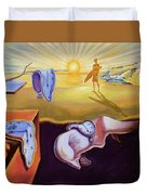 The Persistence Of Memory-amadeus Series  Duvet Cover
