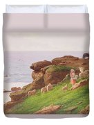 The Pet Lamb Duvet Cover by J Hardwicke Lewis