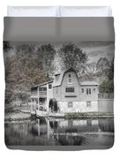 The Peterson Mill In Saugatuck Michigan Duvet Cover