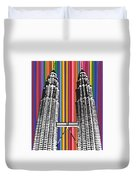 The Petronas Towers  Duvet Cover