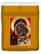 The Petrovskya Icon Of The Mother Of God 128 Duvet Cover