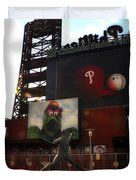 The Phillies - Steve Carlton Duvet Cover
