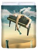 The Pianist  Duvet Cover
