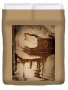 The Piano... Duvet Cover