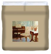 The Piano Room Duvet Cover