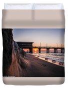 The Pier 2 Duvet Cover by Kim Loftis