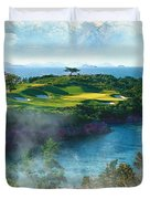 The Pine And Beach Links Duvet Cover
