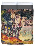 The Pine Wood, Provence Duvet Cover