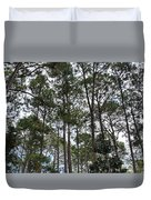 The Pines Of Tallahassee Duvet Cover