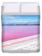 The Pink Diagonal Duvet Cover