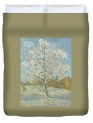 The Pink Peach Tree Arles, April - May 1888 Vincent Van Gogh 1853  1890 Duvet Cover