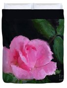 The Pink Rose Duvet Cover