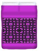 The Pink Rose Garden Duvet Cover