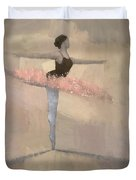The Pink Tutu Duvet Cover by Steve Mitchell