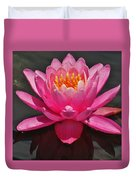 The Pink Water Lily Duvet Cover
