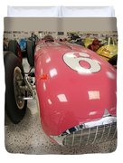 The Pink Zink 1955 Indy 500 Winner Duvet Cover