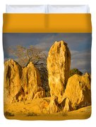 The Pinnacles Nambung National Park Australia Duvet Cover