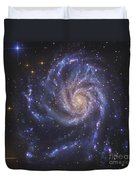 The Pinwheel Galaxy, Also Known As Ngc Duvet Cover
