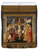 The Pistoia Santa Trinita Altarpiece Duvet Cover
