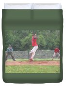 The Pitch Duvet Cover
