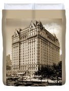The Plaza Hotel Duvet Cover