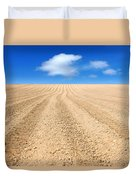 The Ploughed Field 2 Duvet Cover