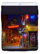 The Point Marshall Street Boston Ma Duvet Cover