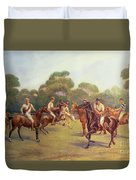 The Polo Match Duvet Cover