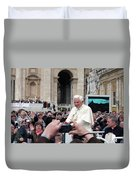 The Pope Duvet Cover
