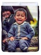 The Power Of Smiles Duvet Cover