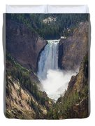 The Power Of Yellowstone Duvet Cover