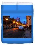The Prado, Havana Cuba Duvet Cover