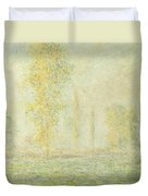 The Prairie In Giverny Duvet Cover
