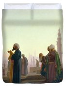 The Prayer Duvet Cover
