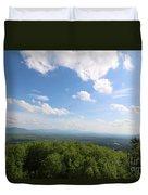 The Presidential Range From Mount Prospect Duvet Cover
