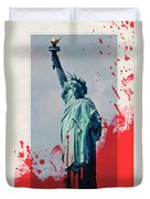 The Price Of Liberty Duvet Cover