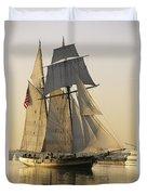 The Pride Of Baltimore Clipper Ship Duvet Cover