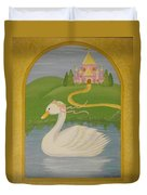 The Princess Swan Duvet Cover