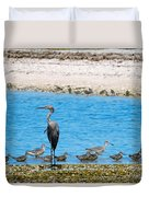 The Procession  Duvet Cover