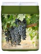 The Promise Of New Wine Duvet Cover