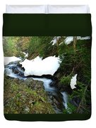 The Promise Of Things Duvet Cover by Jeff Swan