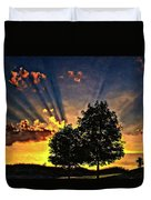 The Promise Oil Duvet Cover