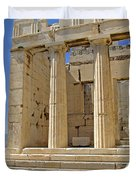 The Propylaia In Athens          The Propylaia - Vertical                                    Duvet Cover