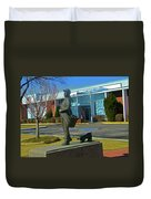 The Pueblo Chieftain Duvet Cover