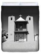 The Pueblo Church Duvet Cover