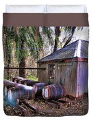 The Pumphouse Duvet Cover by Douglas Barnard